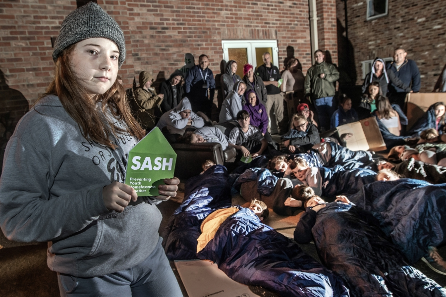 The Big Youth Sleep Out